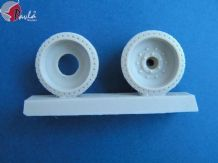 Pavla M35004P 1/35 Resin wheels for T-34 Tank (pressed) 2 x wheels as shown
